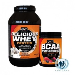 QNT DELICIOUS WHEY + QNT BCAA 8500