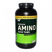 Optimum Nutrition Superior Amino 2222 320 tab. (160 porcijų)