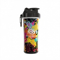 Smartshake Double Wall 750ml. Jungle Graffiti