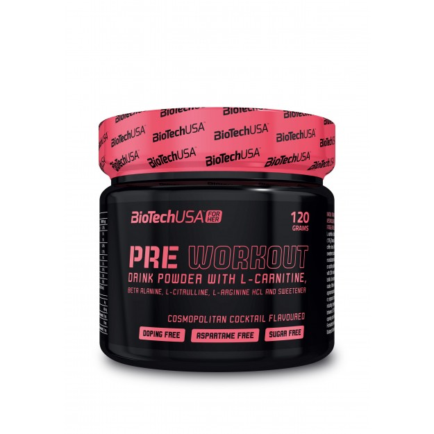 Biotech USA Pre Workout for her