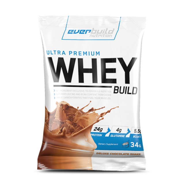 Everbuild Nutrition  Ultra Premium Whey Build 1 porc