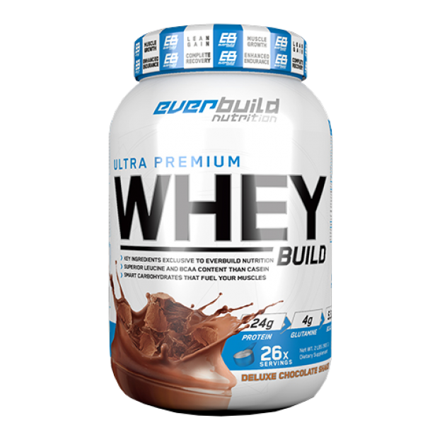 Everbuild Nutrition  Ultra Premium Whey Build 907g