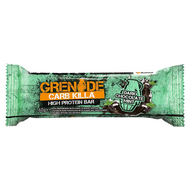 Grenade Carb Killa Dark Chocolate Mint 60g