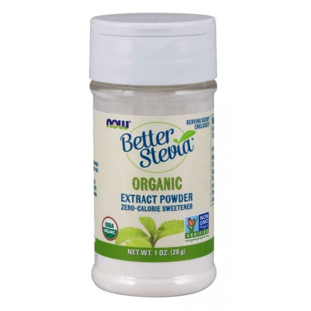 NOW Better Stevia Extract Powder 28g