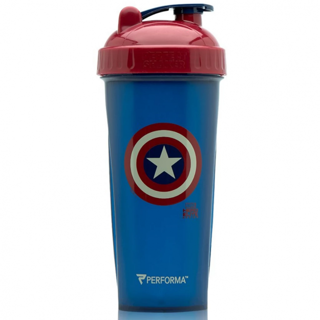 Performa Shakers shaker 800ml - Captain America Blue/Dark red