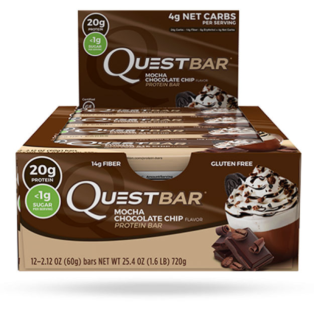 Quest Bar Mocha Chocolate Chip