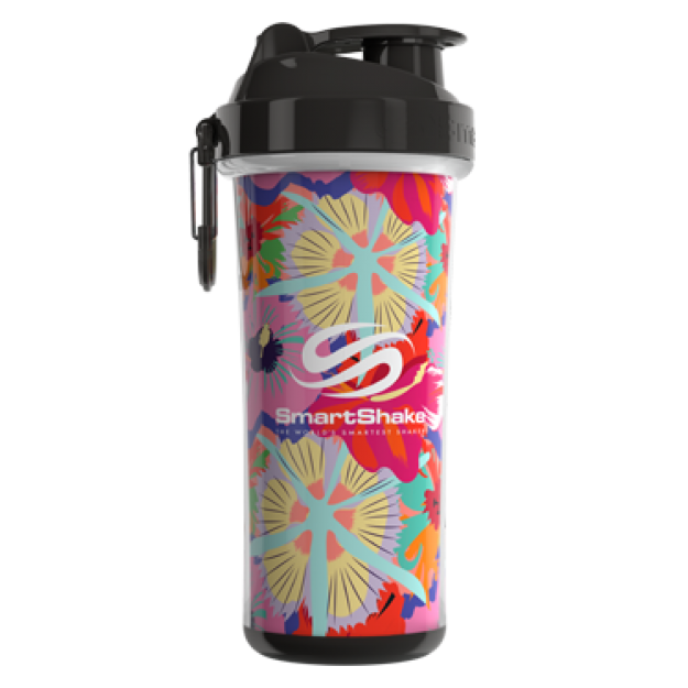 Smart Shake Double Wall shaker cup Tropical Red