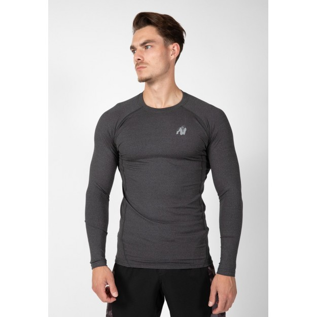 Gorilla Wear Rentz Long Sleeve - Dark Gray