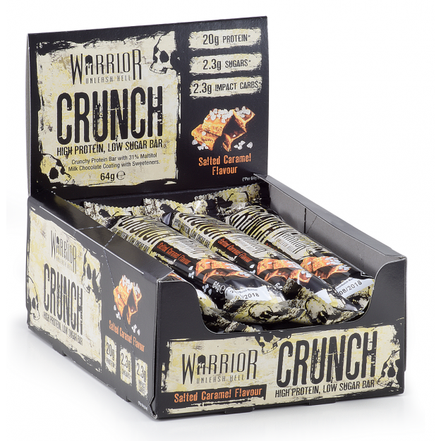 Warrior Crunch Bar 64g x12 vnt