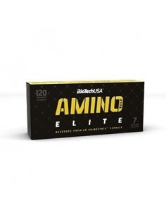 Biotech Amino Build Elite 120 kaps.