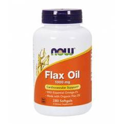 NOW Flax Oil (100kaps)