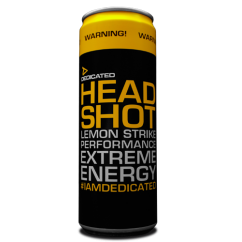 Dedicated Nutrition Headshock Drink 355ml