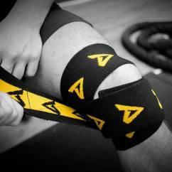 Dedicated Knee Wraps kelio įvyniojimai
